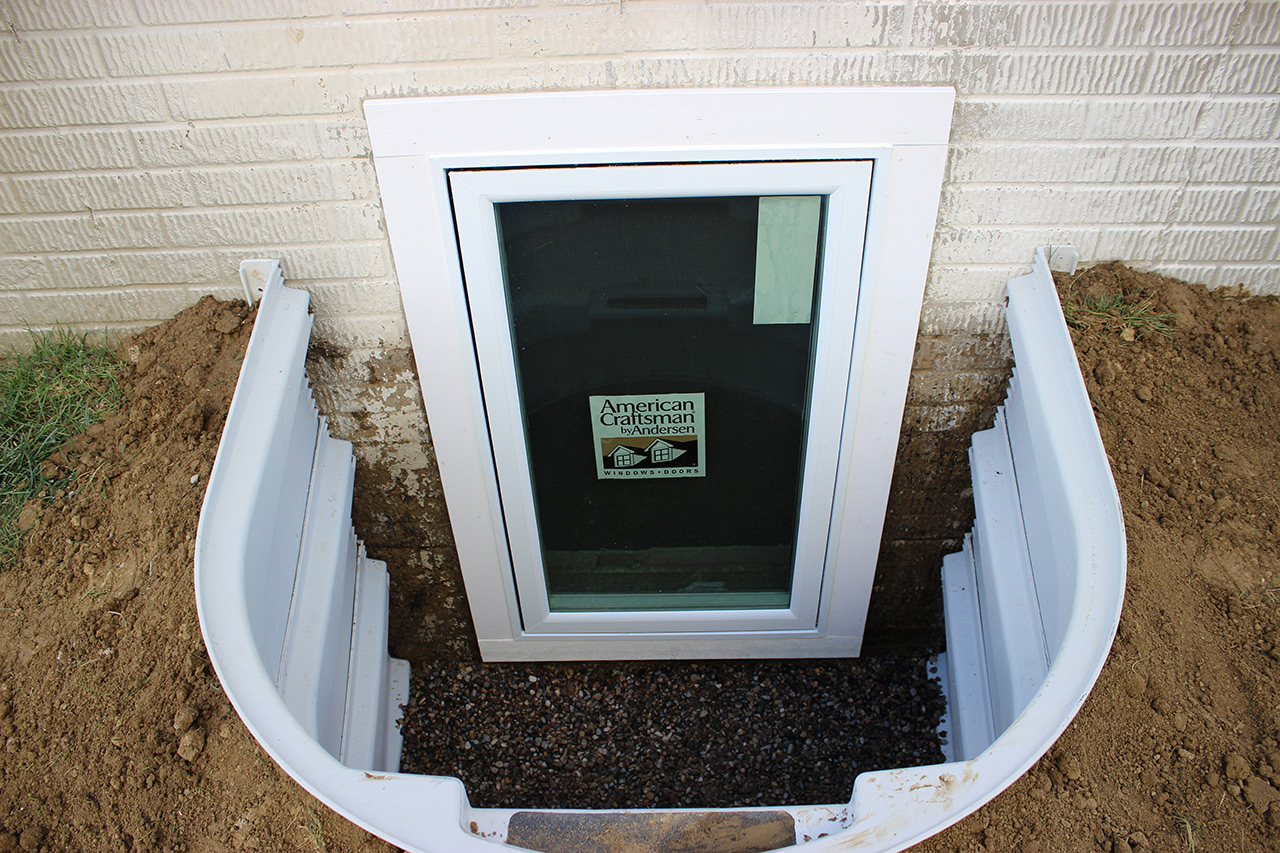Egress windows dunlap construction for Bedroom window egress requirements